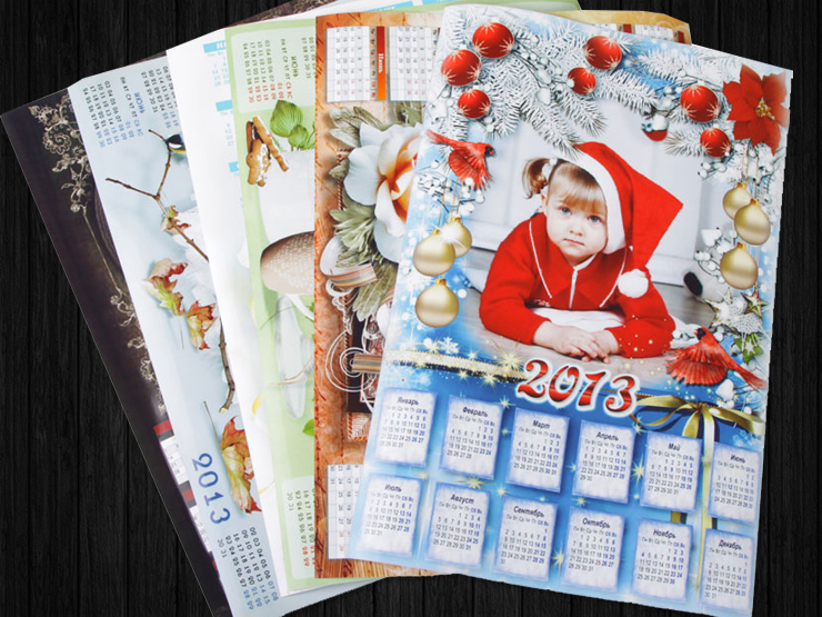 Заказ календарей на заказ